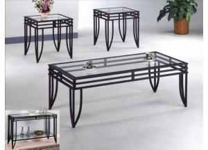 3pc Matrix Coffee Table set - 3702 C.M.,Discount furniture