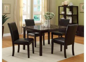 5pc Pompei Dinette - 2377 C.M.,Discount furniture