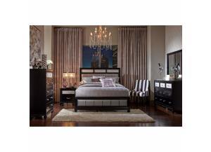Barzini Collection Q Bed, Dresser/Mirror, Chest,Coaster Fine Furniture