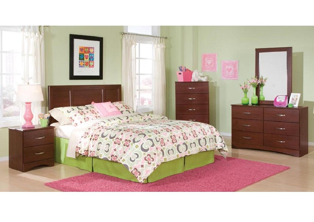 Bargain Furniture Briar Twin Panel Headboard Dresser