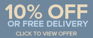 10% OFF or Free Delivery