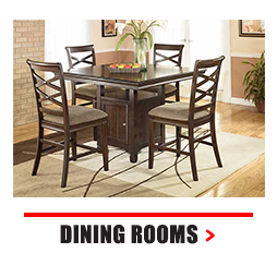 Solid wood dining room set with four chairs