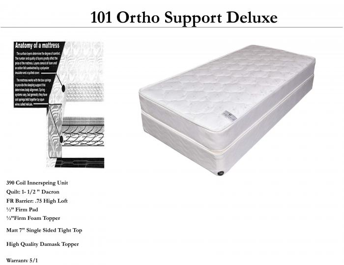 101 ortho support queen set ,United bedding
