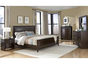 3112 Queen bed Dresser & Mirror