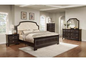 3191 Queen bed  dresser & mirror