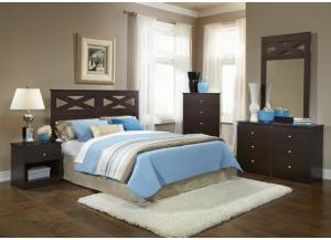 B830 complete 5pc bedroom set
