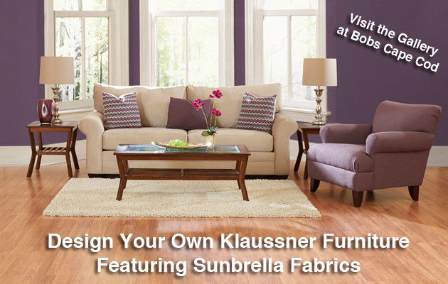 Design Klaussner Furniture Featuring Sunbrella Fabrics