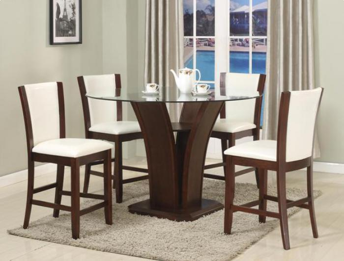 Camelia Counter Height Table/4 Stools,Brandywine Showcase