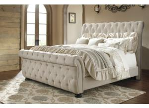 King Willenburg Sleigh Bed