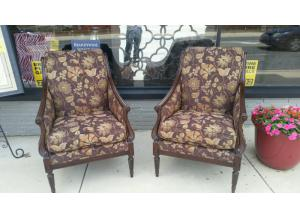 Pair of Hand Crafted Sherril Chairs