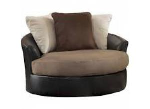Masoli Mocha Swivel Chair