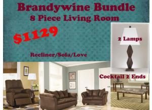 BUNDLE /  Sofa  /Love / Recliner  /Cocktail / 2Ends/2Lamps
