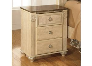 Saveaha 3 Drawer Night Stand