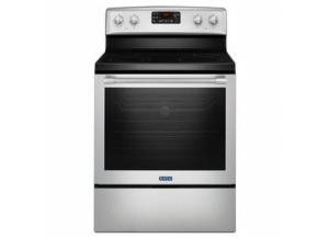 Maytag® 30-Inch Wide Electric Range with Fan Convection and Max Capacity Rack - 6.4 Cu. Ft.