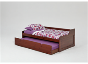 Promotional Dark Trundle Bed