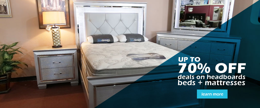 UP to 70% off DEALS on Headboards, Beds & Mattresses
