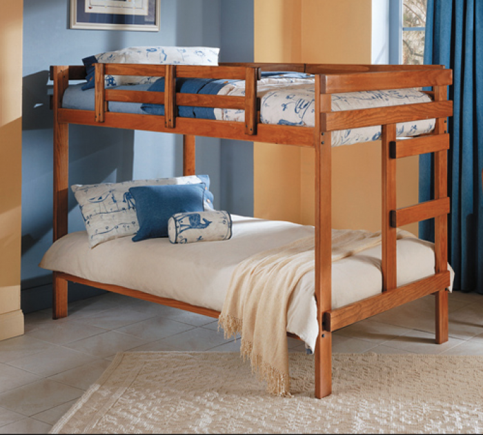 Heartland 2400 Bunkbed w/ Two Dino Bunkies,Woodcrest