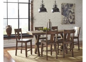 Ashley Walnord 7pc Dining Set