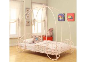 Coaster Pink Princess Twin Bed