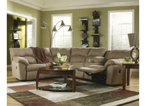 Ashley Amazon 2pc Reclining Sectional