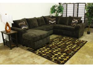 Seminole 3pc Chocolate Sectional