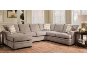 American Perth Pewter 3pc Sectional