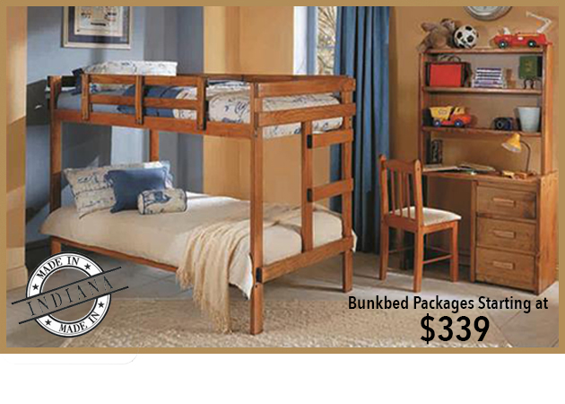 2x4 Woodcrest Bunkbed