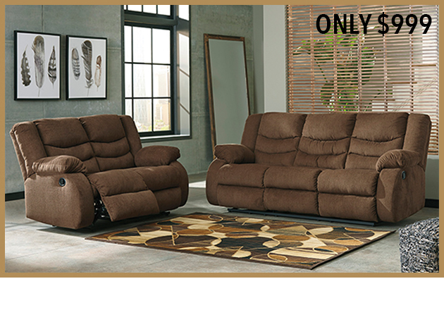 Tulen Sofa and Loveseat