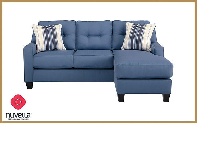 Nuvella Blue Sectionette