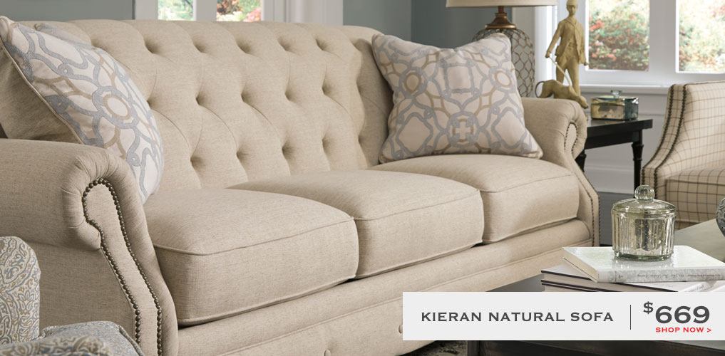 Kieran Natural Sofa