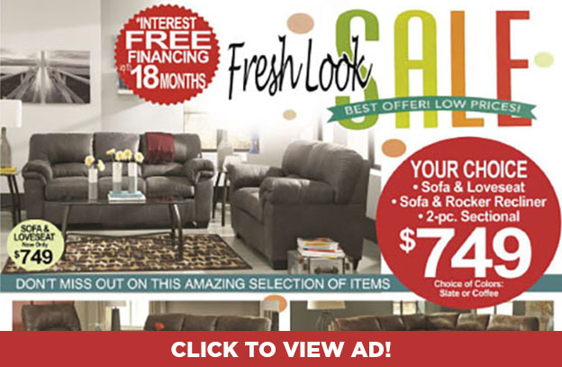 Fresh Look Sale