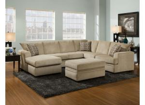 Cornell Platinum Sectional