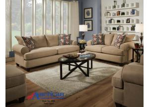 Natte Sand Sofa & Loveseat