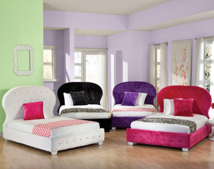 Marilyn Twin Upholstered Bed,Standard Furniture