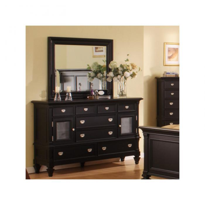 Summer Breeze 6 Drawer Dresser & Mirror,Holland House
