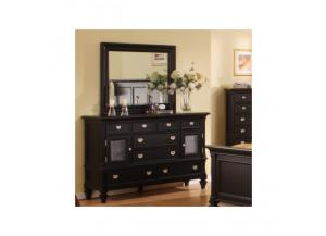 Summer Breeze 6 Drawer Dresser & Mirror
