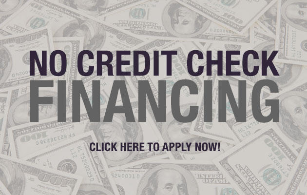 No Credit Check Financing