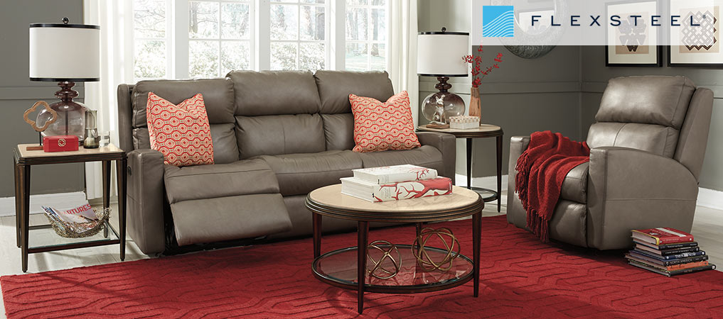 Flexsteel Reclining Sofa and Recliner