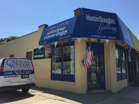 window covering store in Oceanside, NY