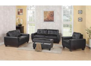 Black Sofa & Love Seat