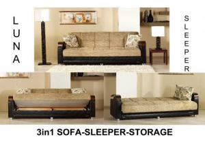Luna Sofa Euro Sleeper