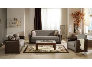 Alfa Sofa & Love Seat Euro Sleeper