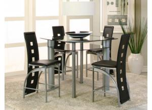 Valencia Counter Height Table & 4 Stools