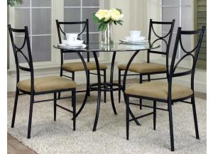 Hudson Dining Table & 4 Chairs