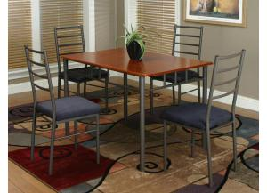 Marcy Dining Table & 4 Chairs