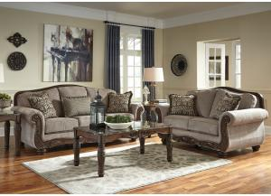 Cecilyn Cocoa 7PC Living Room Set
