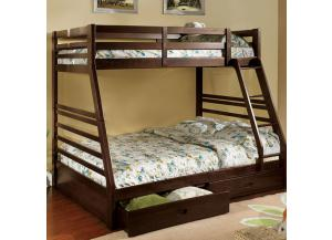Twin/Full Bunkbed Frame w/ Storage Drawers