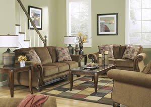 Montgomery Mocha 7 Pc Living Room Set
