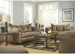Darcy Mocha 14 Pc Living Room Set