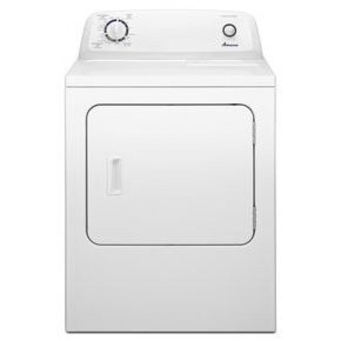 Amana® 6.5 cu. ft. Top Load Electric Dryer with Automatic Dryness Control,Whirlpool